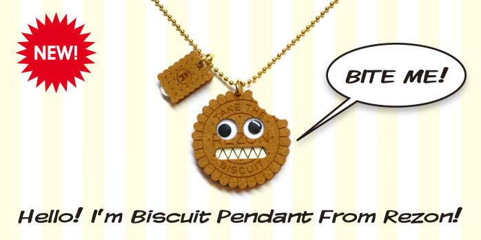 BISCUIT PENDANT BITE ME! Hello! I'm Biscuit Pendant From Rezon!